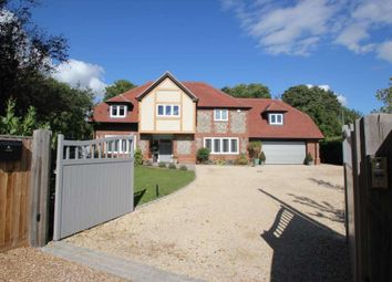 Thumbnail 5 bed detached house for sale in Chiltern Road, Peppard Common, Henley-On-Thames