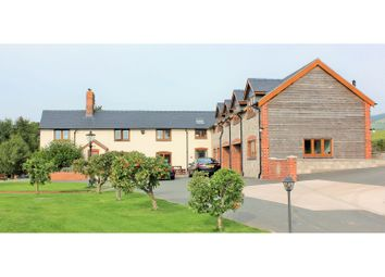 Thumbnail 6 bed detached house for sale in Hope, Welshpool