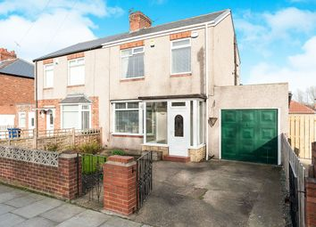 Thumbnail 3 bedroom semi-detached house for sale in West Farm Road, Newcastle Upon Tyne