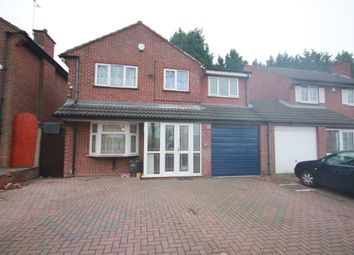 Thumbnail 5 bed link-detached house to rent in Icknield Port Road, Edgbaston