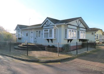 Thumbnail 2 bed mobile/park home for sale in Woodbine Close, Waltham Abbey