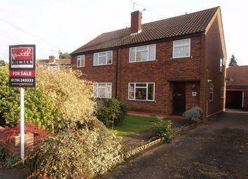 Thumbnail 3 bed semi-detached house for sale in Fairways, Ashford