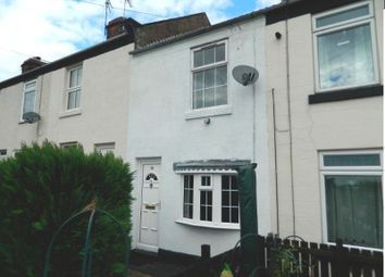 Thumbnail 2 bed terraced house to rent in Church Lane, North Wingfield, Chesterfield