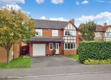 Thumbnail 6 bed detached house for sale in Neale Close, Wollaston, Northamptonshire