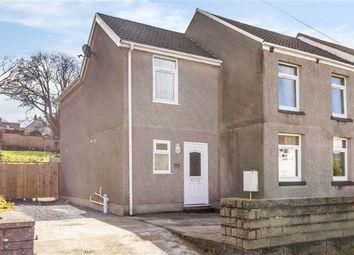 Thumbnail 4 bed end terrace house for sale in Swansea Road, Waunarlwydd, Swansea