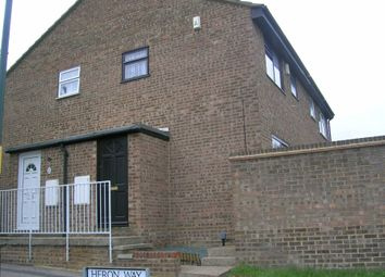Thumbnail 1 bed semi-detached house to rent in Heron Way, Walderslade