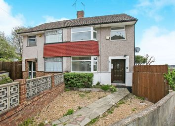Thumbnail 3 bed semi-detached house to rent in Rectory Close, Crayford, Dartford