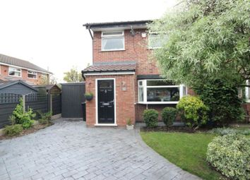 Thumbnail 3 bed semi-detached house for sale in Larchwood Close, Sale