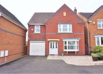 Thumbnail 4 bed detached house for sale in Moorhen Close, Brownhills, Walsall