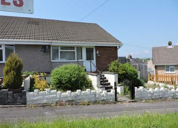 Thumbnail 1 bed semi-detached bungalow for sale in Darren Road, Briton Ferry, Neath