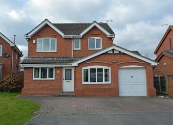 Thumbnail 4 bed detached house for sale in Ashfield Court, Crowle, Scunthorpe