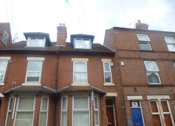 Thumbnail 4 bed terraced house for sale in Cedar Road, Nottingham