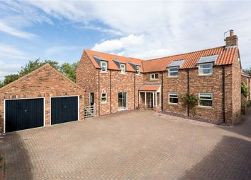 Thumbnail 5 bed detached house for sale in Main Street, Hessay, York