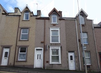 Thumbnail 3 bedroom terraced house for sale in Constantine Terrace, Caernarfon