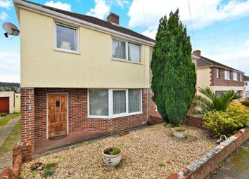Thumbnail 3 bed semi-detached house for sale in St Margarets Road, Plymouth, Devon