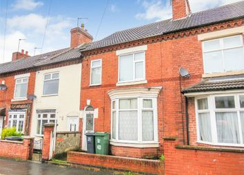 Thumbnail 3 bed terraced house for sale in Springfield Road, Shepshed, Loughborough, Leicestershire
