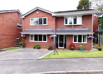 Thumbnail 4 bed detached house for sale in Glenside Drive, Woodley, Stockport, Cheshire