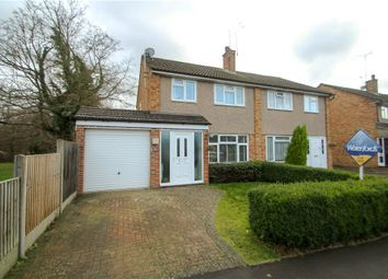Thumbnail 3 bed semi-detached house for sale in Freemantle Road, Bagshot, Surrey