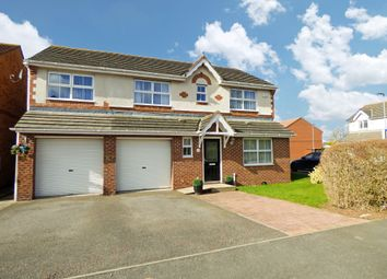 Thumbnail 4 bed detached house for sale in Chillingham Grove, Peterlee