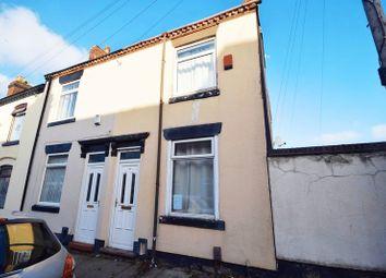 Thumbnail 2 bedroom terraced house for sale in Edison Street, Fenton, Stoke-On-Trent