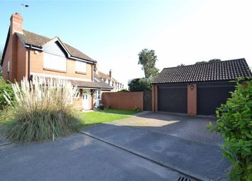 Thumbnail 4 bedroom detached house for sale in Meadow Close, Compton, Berkshire