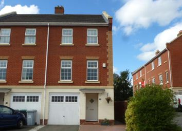 Thumbnail 3 bed town house to rent in Jackson Avenue, Nantwich, Cheshire