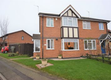 Thumbnail 3 bed semi-detached house for sale in Marywell Close, Hinckley