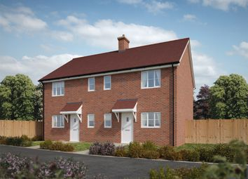 "Thumbnail 3 bed semi-detached house for sale in ""The Charlton"" at Salisbury Road, Downton, Salisbury"