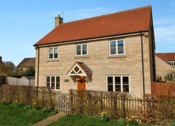 Thumbnail 4 bed detached house for sale in Mill Lane, Cottesmore, Oakham