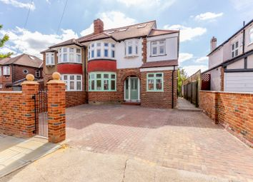 Thumbnail 5 bed semi-detached house for sale in The Hollands, Worcester Park