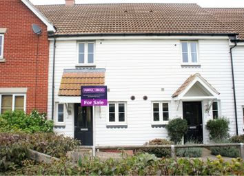 Thumbnail 2 bed terraced house for sale in Ratcliffe Gate, Chelmsford
