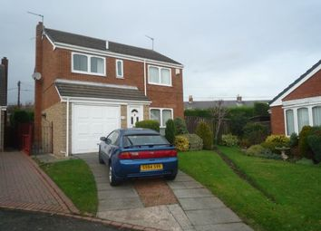 Thumbnail 4 bed detached house for sale in Heron Close, Ashington