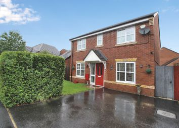 Thumbnail 4 bed detached house for sale in Roseway Avenue, Cadishead, Manchester, Greater Manchester