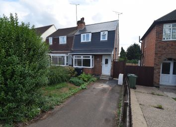 Thumbnail 2 bed semi-detached house to rent in Church Hill Road, Thurmaston, Leicester
