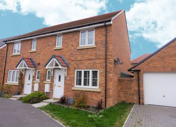 Thumbnail 3 bed semi-detached house for sale in Jackdaw Road, Didcot