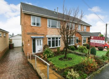 Thumbnail 3 bed semi-detached house for sale in Netherdene Road, Dronfield, Derbyshire