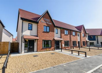 Thumbnail 3 bed end terrace house for sale in Salhouse Road, Rackheath, Norwich