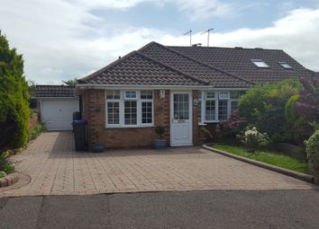 Thumbnail 3 bed semi-detached bungalow for sale in Steyning Close, Sompting, Lancing