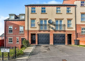 Thumbnail 4 bedroom terraced house for sale in Clay Pit Way, Sheffield