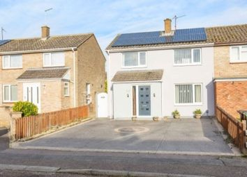 Thumbnail 3 bed end terrace house for sale in Gateford Court, Corby
