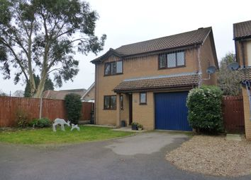 Thumbnail 4 bed detached house for sale in Haverscroft Close, Taverham, Norwich