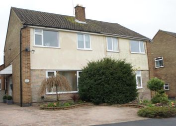 Thumbnail 4 bed semi-detached house for sale in Neville Drive, Markfield