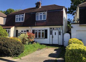 Thumbnail 3 bedroom semi-detached house for sale in Grasmere Avenue, Farnborough, Orpington