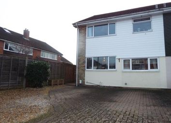 Thumbnail 3 bed semi-detached house for sale in Scafell Avenue, Fareham