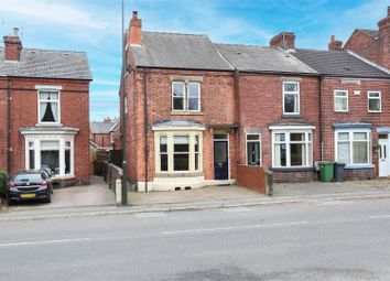 Old Road, Brampton, Chesterfield S40. 3 bed end terrace house for sale