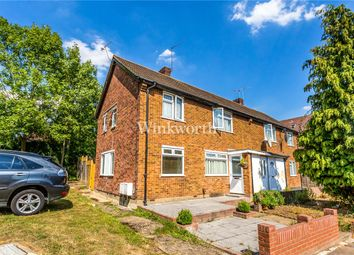 Thumbnail 1 bed flat for sale in Linden Close, London