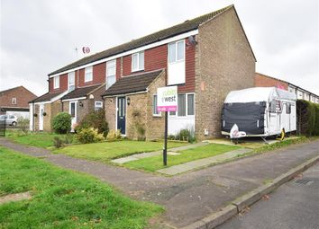 Thumbnail 3 bed end terrace house for sale in Kingsley Road, Horley, Surrey