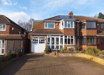 Thumbnail 3 bed semi-detached house for sale in Cartwright Road, Four Oaks, Sutton Coldfield