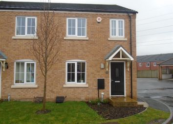 Thumbnail 3 bed semi-detached house for sale in Packington Mews, Cannock