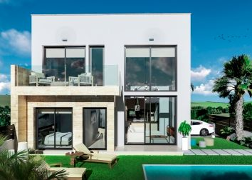 Thumbnail 3 bed detached house for sale in Daras Villas, Daya Vieja, Alicante, Valencia, Spain